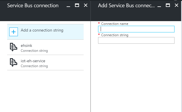 Azure Functions - Configure connection string